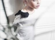 Justine Jugnet - Enfant Femme Portrait Test Agence Book Lyon Mode- Edito Magazine - Studio le carre