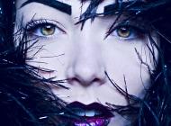Justine Jugnet - Femme Plumes Portrait Beaute Lyon - Ame Sensible - Studio le carre
