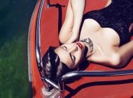 Justine Jugnet - Femme Portrait Test Agence Book Coiffure Bateau Geneve Mode - Edito Magasine - Studio le carre
