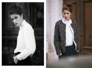 Justine Jugnet - Femme Portrait Test Agence Book Mannequin Lyon Mode - Edito Magazine - Studio le carre