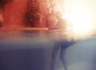 Justine Jugnet - Femme Portrait Test Agence Book Piscine Underwater Sous l'eau Plante Eau Mannequin Marrakech Mode - Edito Magazine - Studio le carre