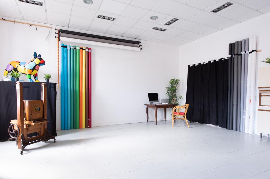 Location de studio photo et vidéo fond vert à Lyon