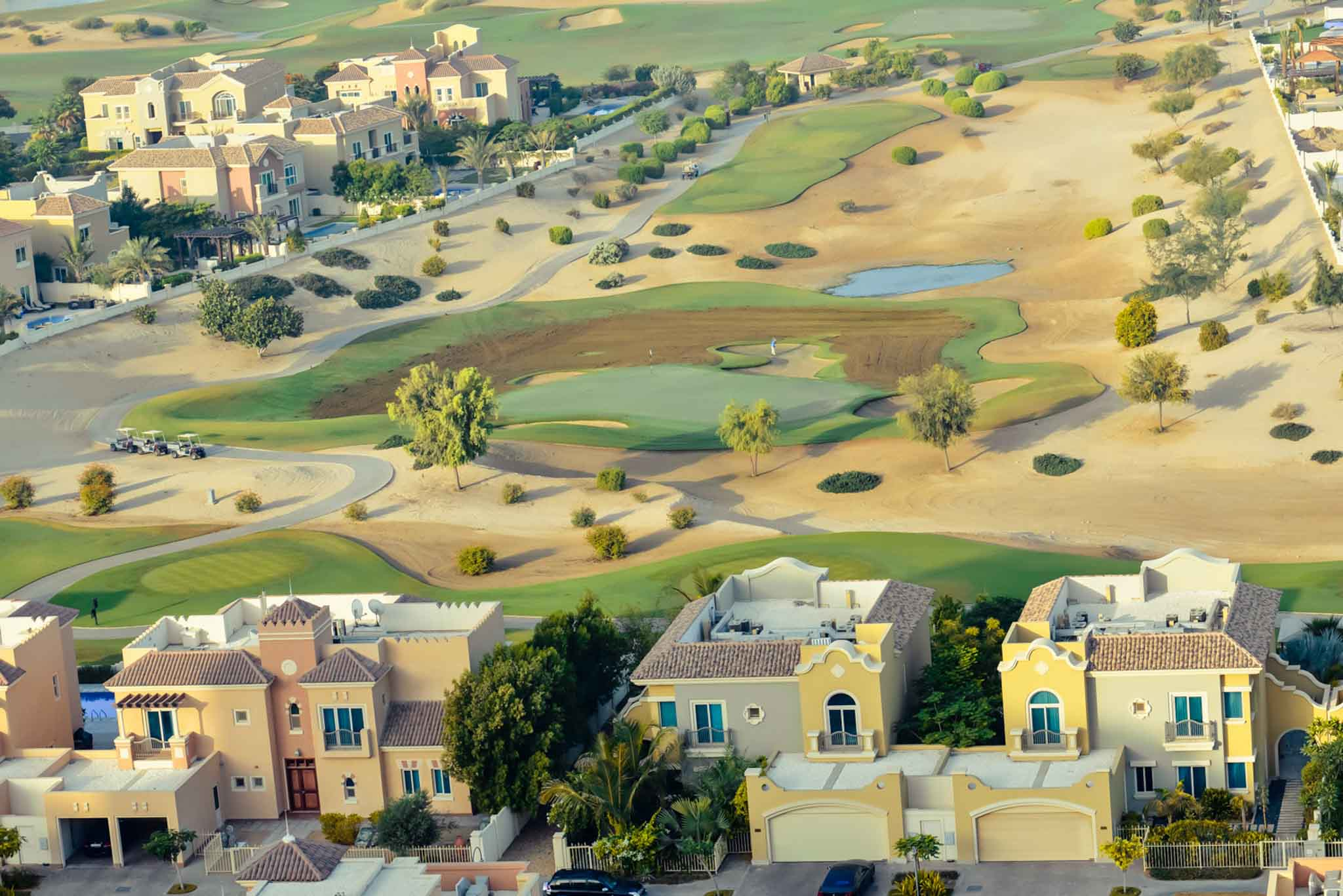 photography, drone, dubai, golf, uae