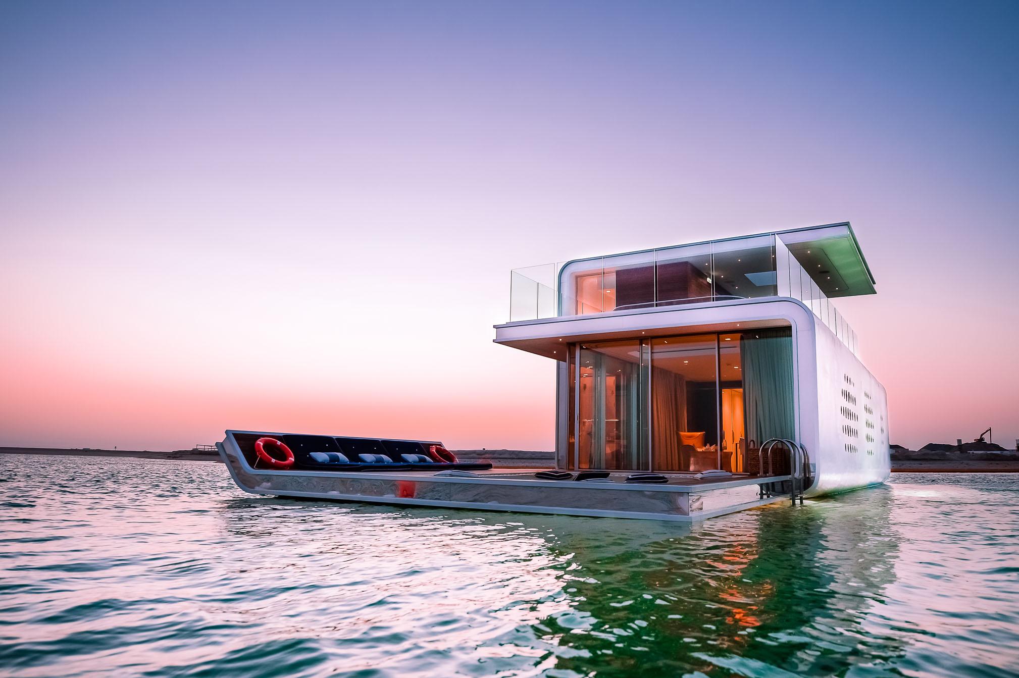 Sea Horses Dubai world Island, photography of house, architecture, photographie de maison flottante, photographe Dubai, Dubai photographer,