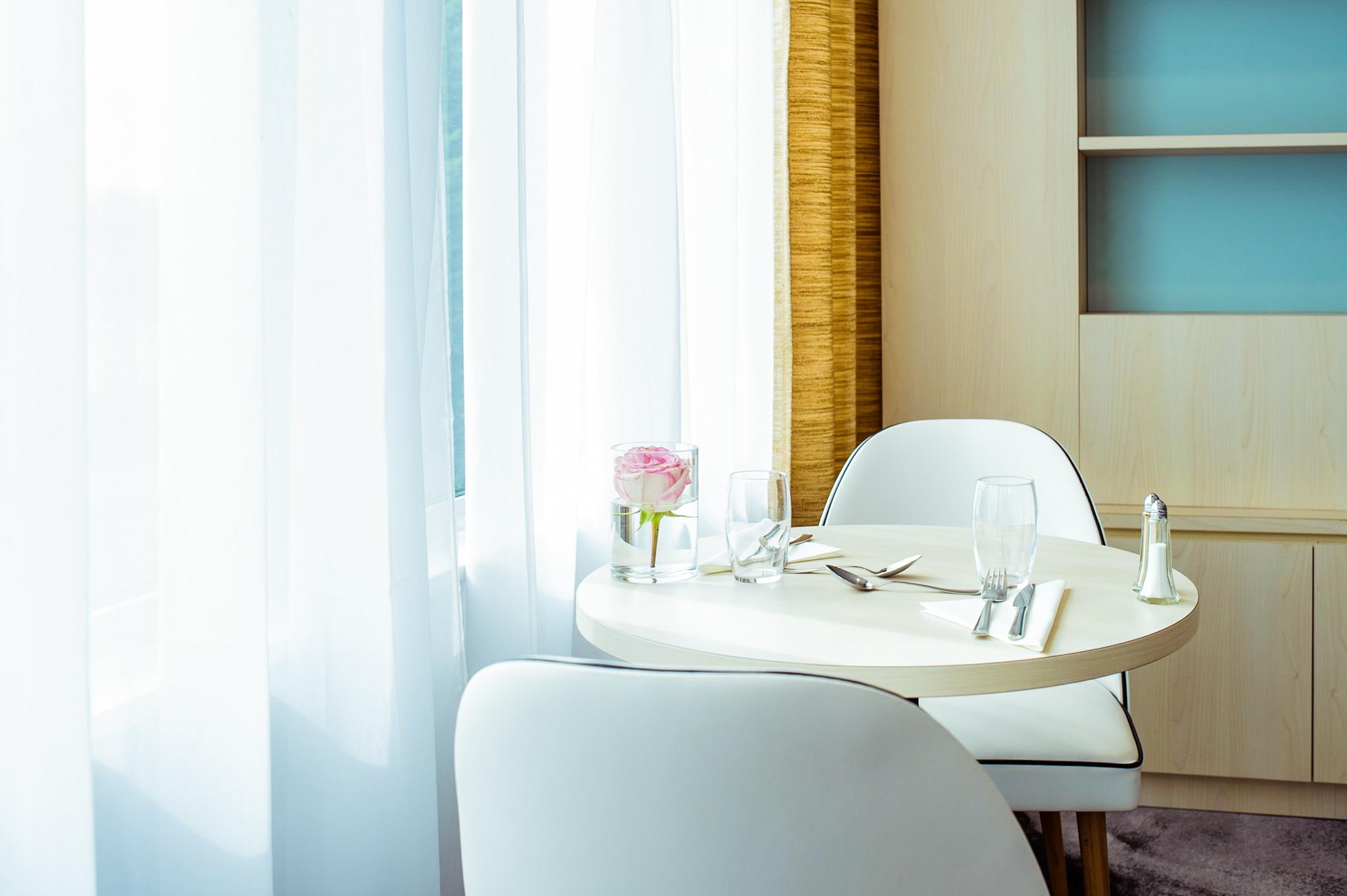 table, intérieur, chaises, rideau, architecture, locaux
