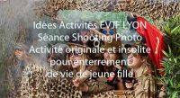 Galerie photo séances shooting Enterrement Vie Fille – sur décor avec accessoires et déguisement
