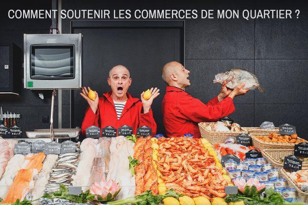 AsdLdfTfgAghLhjTjkAjkLT1 soutenir les commerces de mon quartier à Toulouse, Votre poissonnier vous attend | achat local, tous ensemble, commerce local, toulouse, vente, commerce local, poissonnerie, plat, cuisine, poisson, manger local