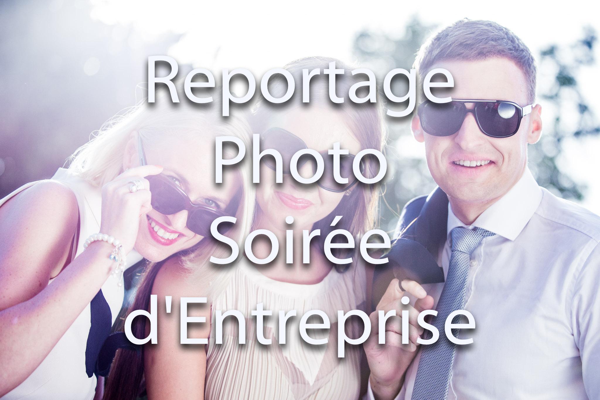 Prestations de reportage photo et reportage vidéo pour événement et séminaire d'entreprise | Contre jour avec lunette de soleil | Photocall pour soirée événementielle et séminaire
