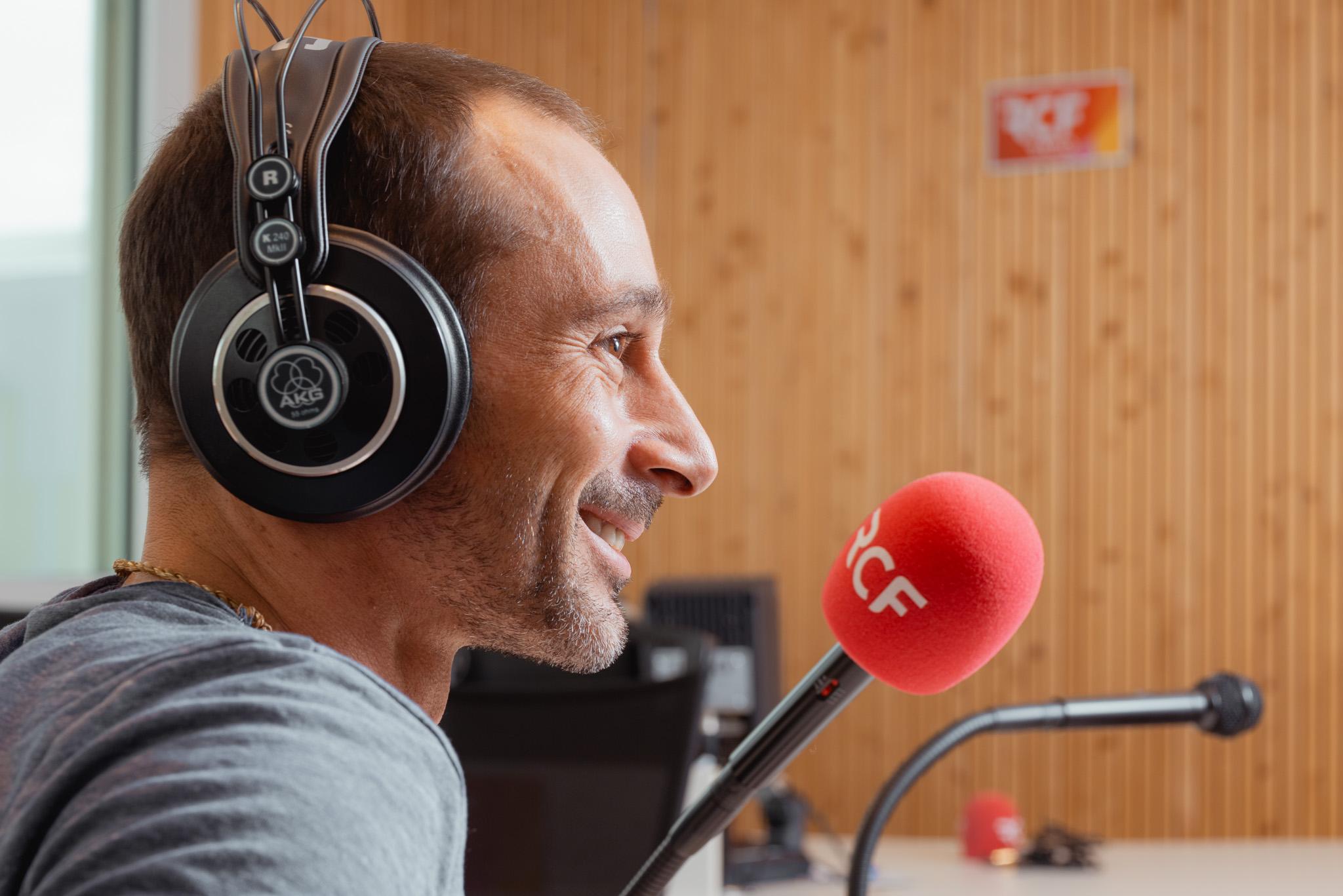 photo interview de Etienne RUGGERI par RCF Lyon
