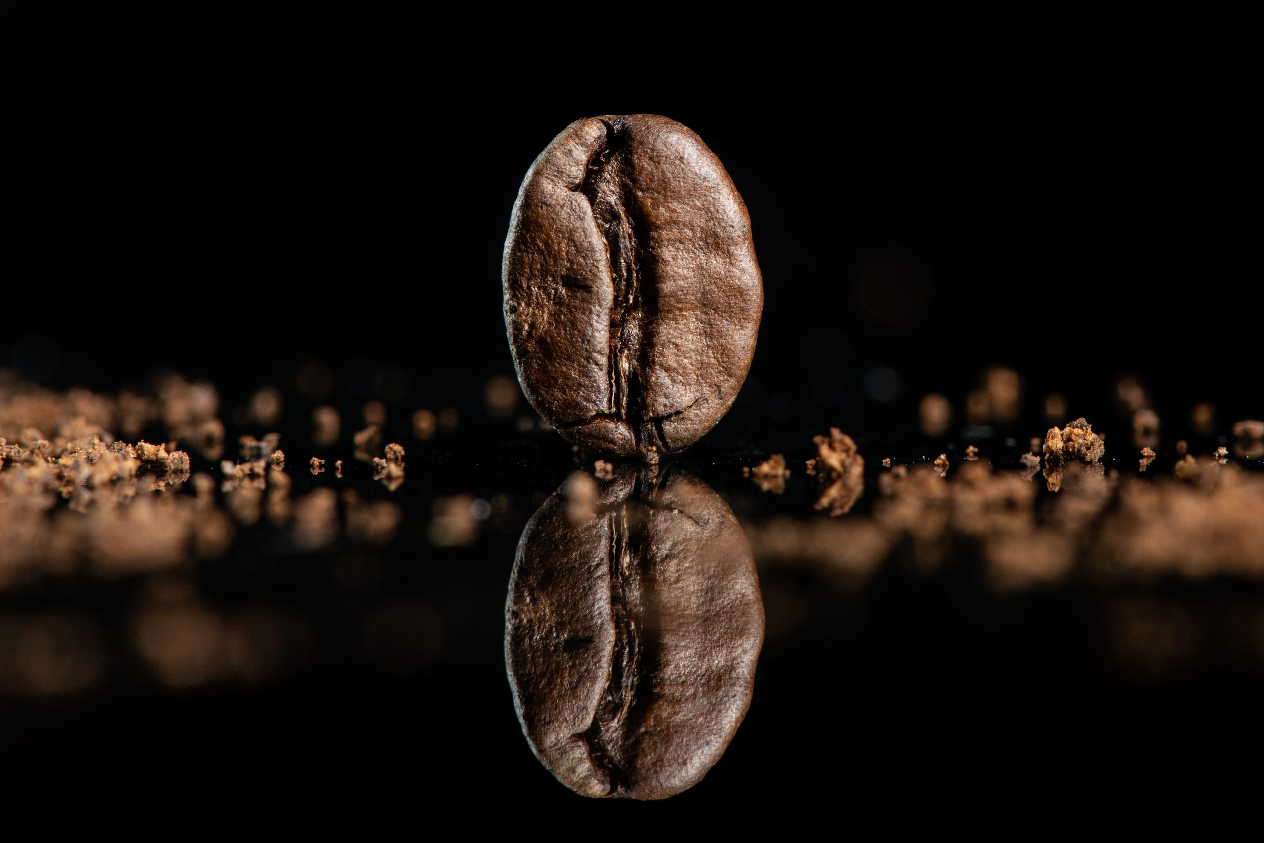 formation en entreprise, formation photo, café, produit, photographie de produit, grain, packshot, noir, brun