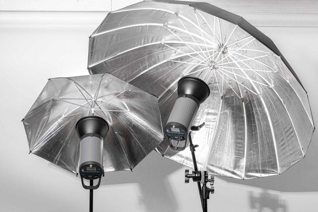 Location Studio photo Toulouse équipé de parapluies